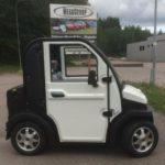 Titan R5 mopedbil kort modell 25/45KM/H. Pris 79.900:-